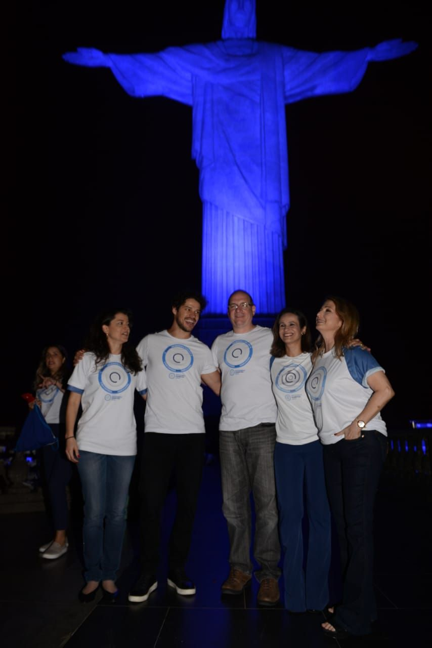 dia mundial do diabetes no cristo redentor