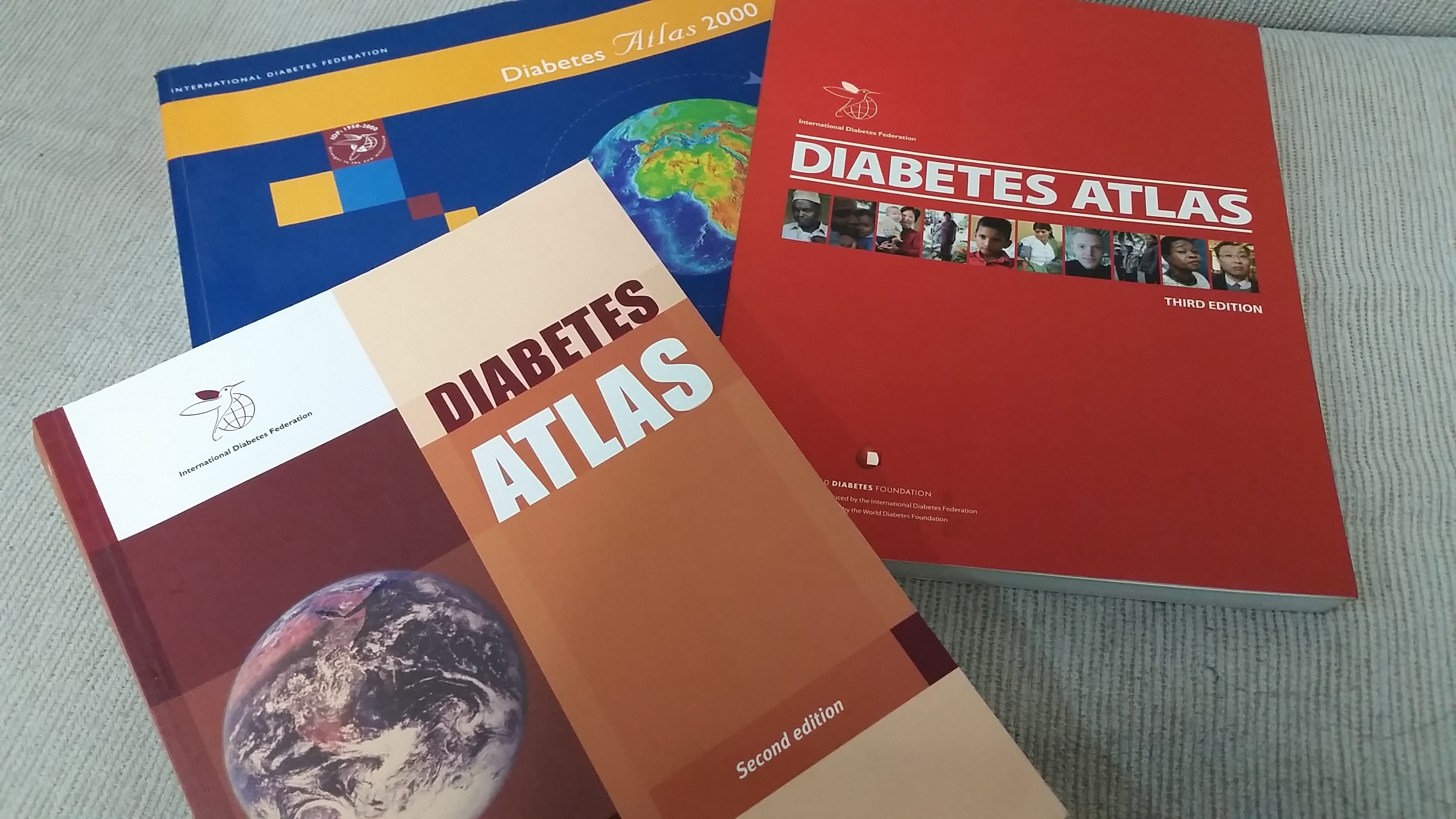 Edições anteriores do Diabetes Atlas